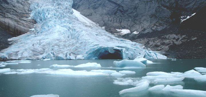 klimaat smeltend ijs